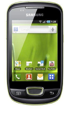 Samsung Galaxy Mini.  http://gadgets.pixabiz.co.uk/samsung-galaxy-mini-s5570-sim-free-mobile-phone-grey/