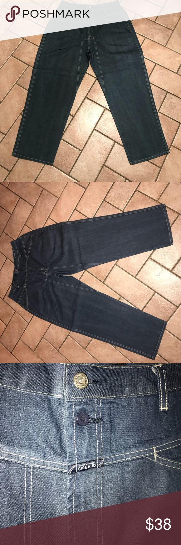 Men's Girbaud Jeans Brand X Authentic Fit Men's Girbaud Jeans size 34 waist x 31 inseam length  Medium wash, baggy fit Jeans are just like new, just brought to cleaners and starched as well! Jeans Relaxed