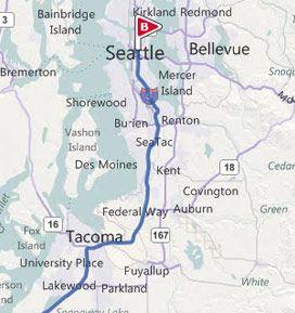 Seattle Wa Www Soundtransit Org Put In Start And