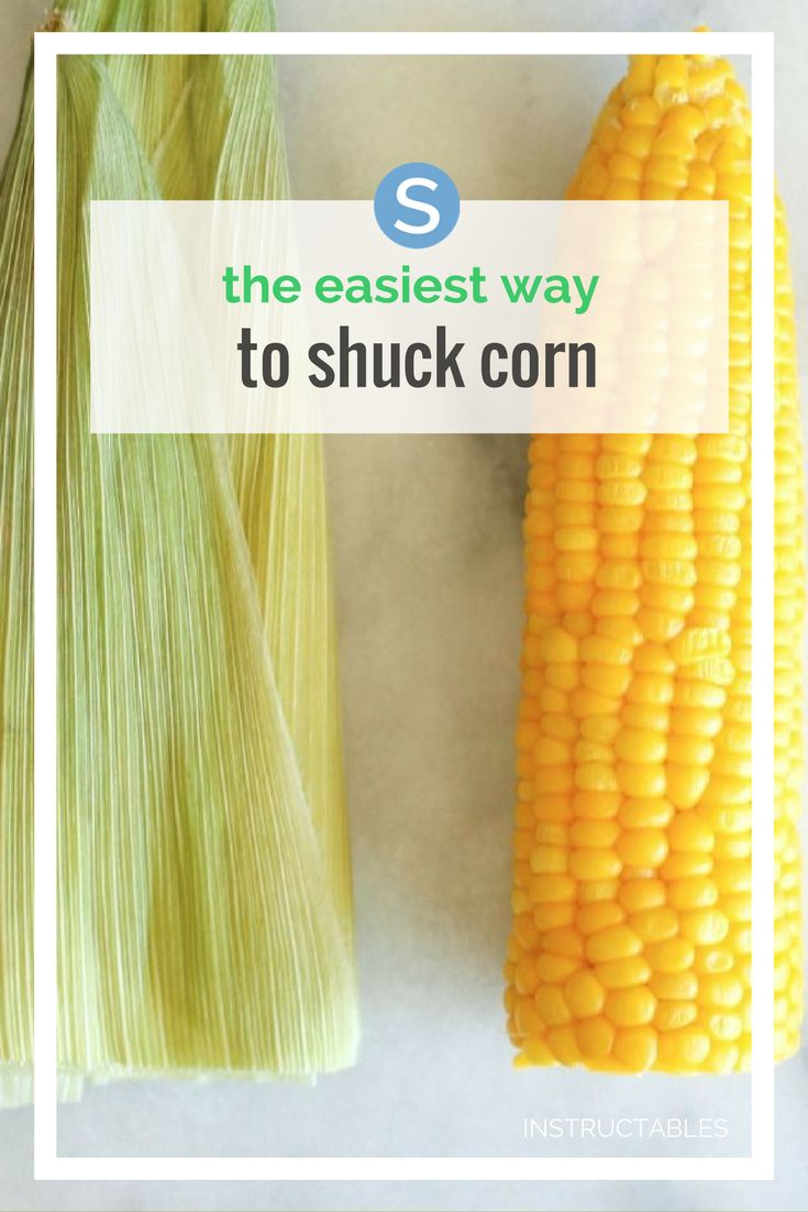 There's nothing better than some good old-fashioned corn with a little butter and salt. The only challenge is the time and mess that comes with shucking corn. Here's a better way.