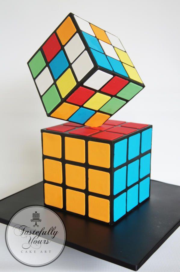 Rubik's Cube by Marianne: Tastefully Yours Cake Art
