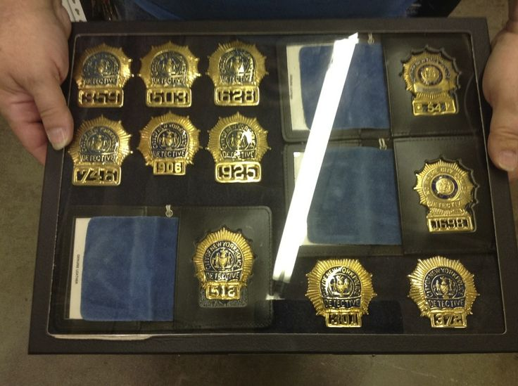 NYPD Detectives Police badge, Fire badge, Badge