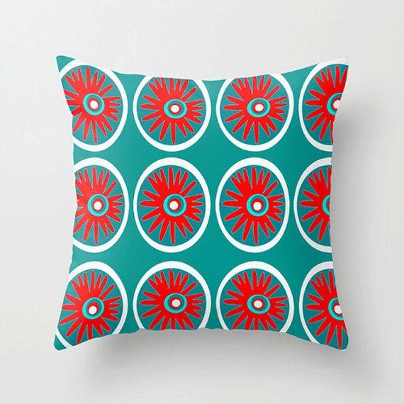 Mod Outdoor Pillow Red Outdoor Cushion Mod By Crashpaddesigns, $48.00