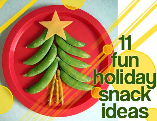 A bunch of fun snack ideas for Christmas!