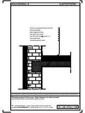 Pardoseala pe placa de beton armat - detaliu deasupra unui subsol neincalzit AUSTROTHERM
