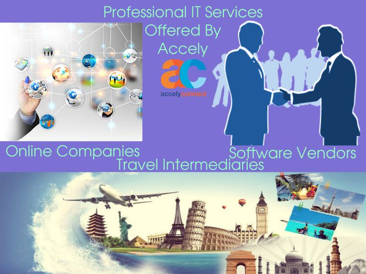 #ProfessionalServices Offered By Accely Accely provides end-to-end solutions along the information value chain from data collection to information delivery. Their solution's in professional services range across #OnlineCompanies, #SoftwareVendors & #TravelIntermediaries.