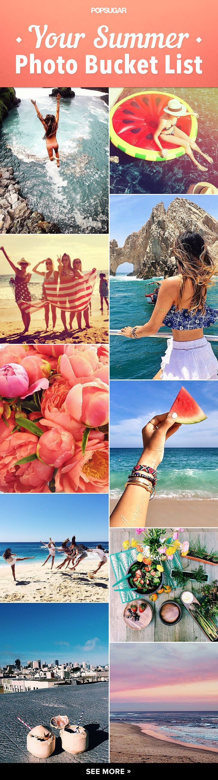 Get ready for Summer with this photo bucket list!