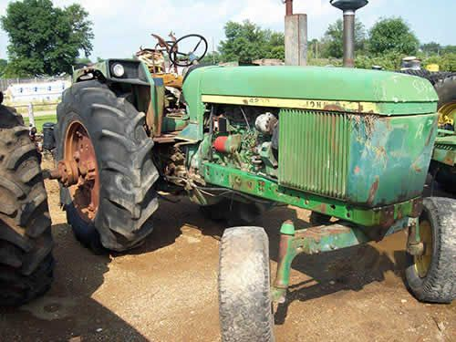 Used Tractor Parts Salvage Yards : John deere tractor salvaged for used parts call