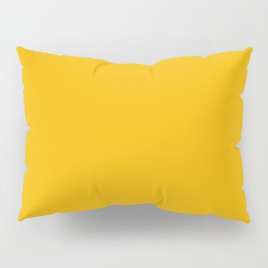 American Yellow Pillow Sham