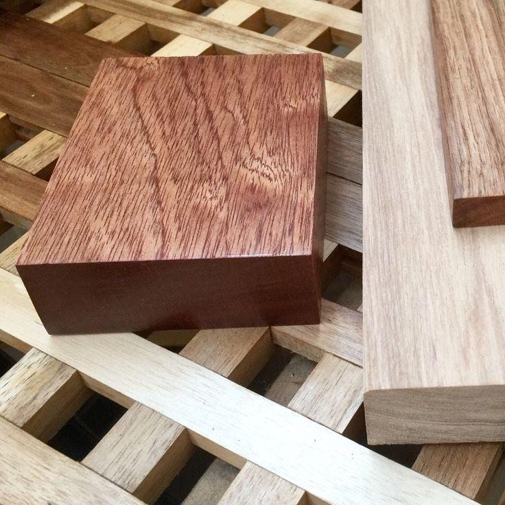 Oak, ash, mahogany