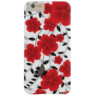 Red Valentine Barely There iPhone 6 Plus Case