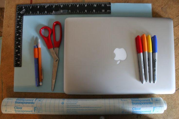 TheFlyingOkapi: DIY Laptop Skin
