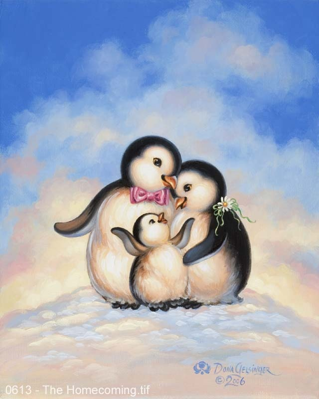 Penguins - The Homecoming (by Donna Gelsinger)