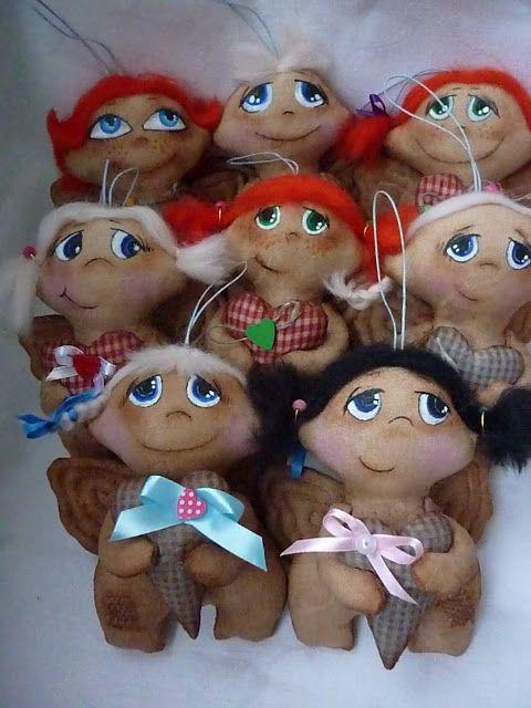 Куклёнки от Алёнки: Ангелы не плачут... / acht engeltjes