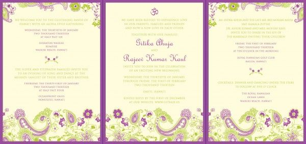 Not Only Did Gitika And Rajeev Need Cards To Announce