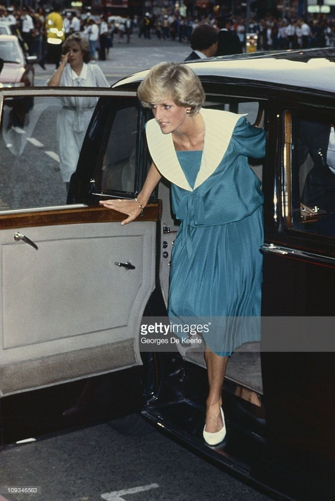 The Princess of Wales attends a Duran Duran concert at the Dominion Theatre in London, 20th July 1983.