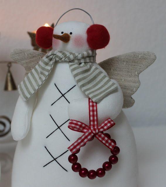 Vicky und Ricky: Snowman Tilda for Christmas