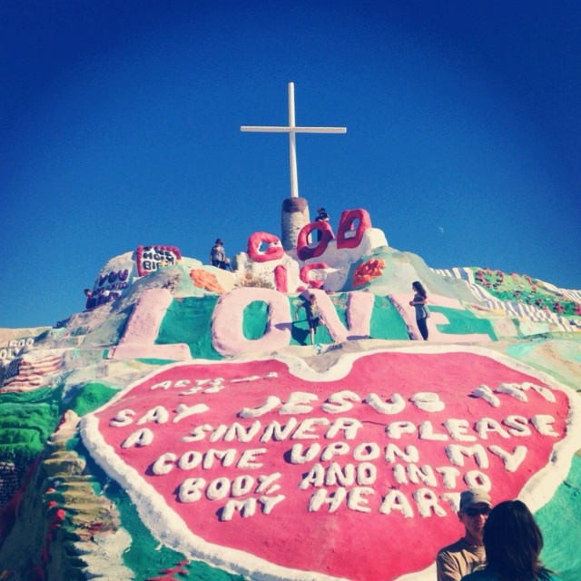 Salvation Mountain was awesome!