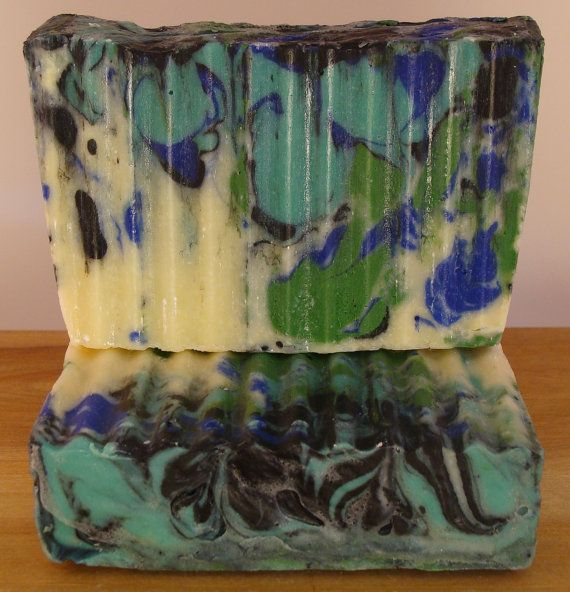 Karma Cold Processed Soap 1 left  LUSH Type  by SoapyMountain