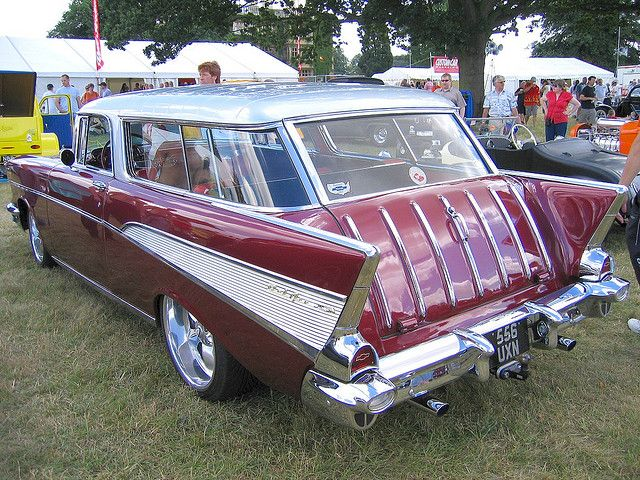 57 Chevy Nomad.
