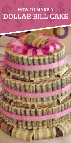 How To Make Your Own Money Cake