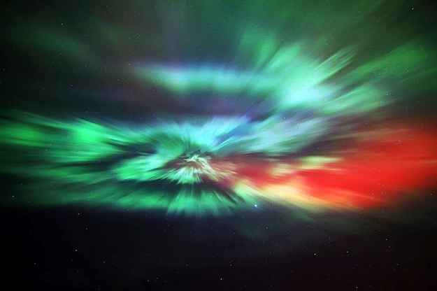 Thurso in Caithness, Scotland. | 16 Absolutely Breathtaking Photos Of The Northern Lights Taken In Scotland And The North Of England