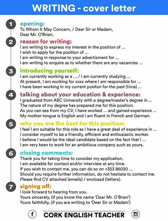 Forum | ________ Learn English | Fluent LandWays to Write a Successful Cover Letter | Fluent Land