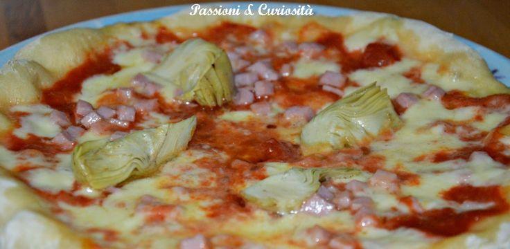 Passioni & Curiosità             : PIZZA  MARGHERITA CON CAPRICCIO