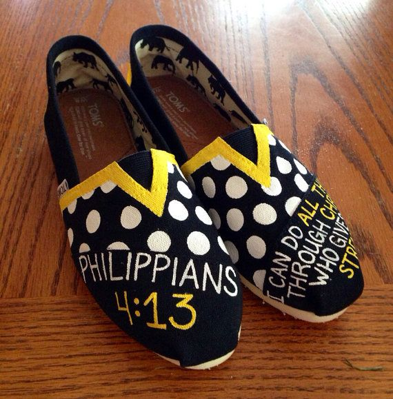 Omg. Love.  Hey, I found this really awesome Etsy listing at http://www.etsy.com/listing/152715228/bible-verse-toms-painted-christian