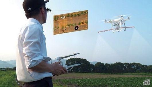 ドローンのビッグデータを解析--オプティムが佐賀県と農業IT化を推進