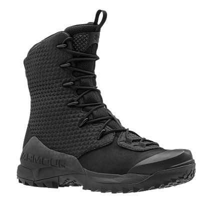 "Under Armour's Men's 10"" Infil Ops GTX Boots provide reliable traction, enhanced mobility, and resistance to water and wind during tactical operations."