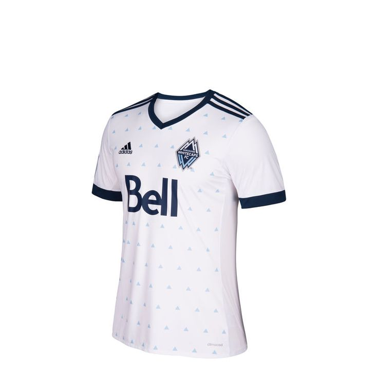 Vancouver Whitecaps FC adidas Youth 2017 Primary Replica Jersey - White