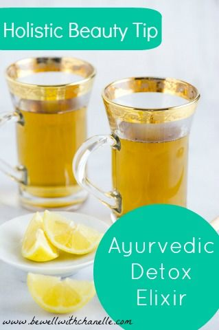 This Ayurvedic Detox Elixir boosts digestion + removes toxins to cleanse the body + promote beautiful skin. Drink this tea for 3-6 months to reap the full benefits, especially for acne-prone skin. Boil 5 cups of water. Add a 1/2 teaspoon of the following seeds to the boiled water + let steep for 10-15 minutes. *Whole cumin seeds *Whole coriander seeds *Whole fennel seeds Strain out the seeds + sip the tea throughout the day.