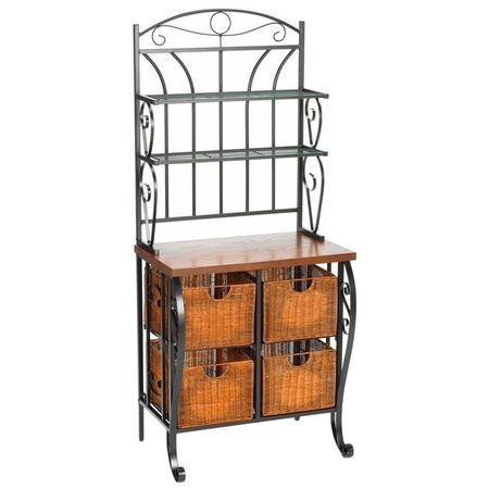 I pinned this Pollard Storage Bakers Rack from the Tropical Oasis event at Joss and Main!