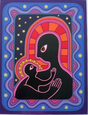 Mother and Child    Artist: Sally Morgan    1990