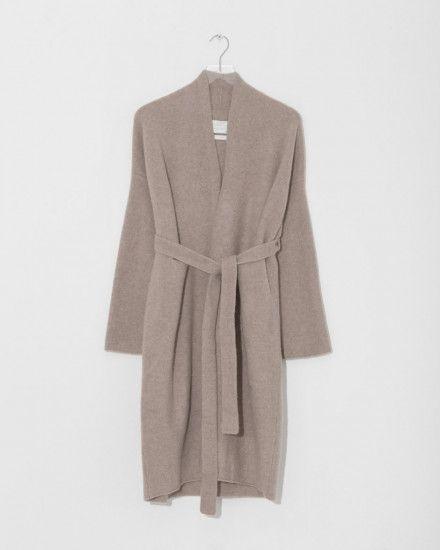 Cashmere Robe Coat by Lauren Manoogian
