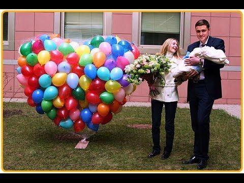 воздушные шарики на выписку из роддома Алматы