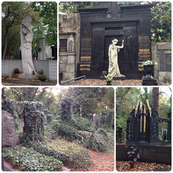 Olšany cemetery, tombstone , Olšanské hřbitovy - Praha