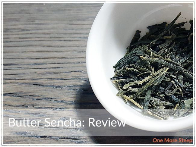 Review of DavidsTea's Butter Sencha on One More Steep