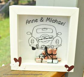Am Freitag waren wir auf eine   Hochzeit eingeladen.   Da das Brautpaar schon alles für   den gemeinsamen Haushalt hat, hat es   sich Geld...