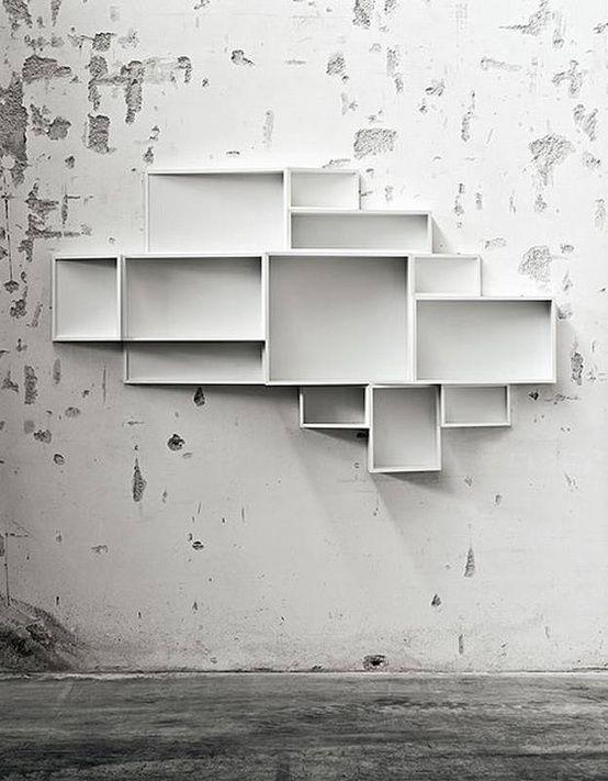 Unusual wall unit