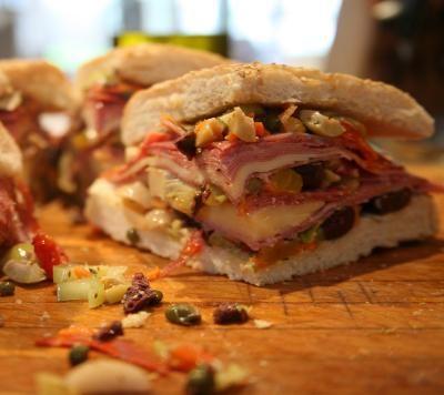 Lidia's Mufaletta Sandwich