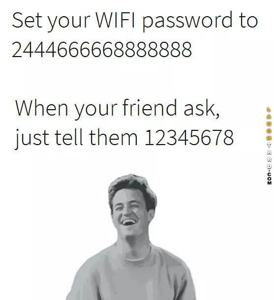 WIFI password
