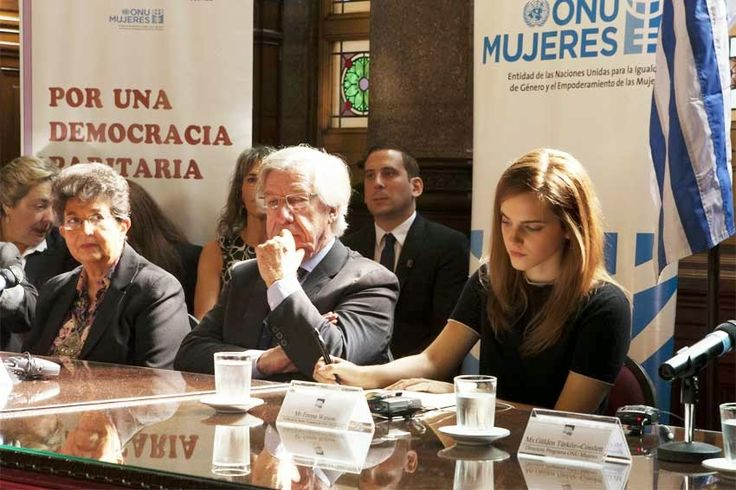 Uruguay: In Uruguay, UN Women Goodwill Ambassador Emma Watson urges women's political participation