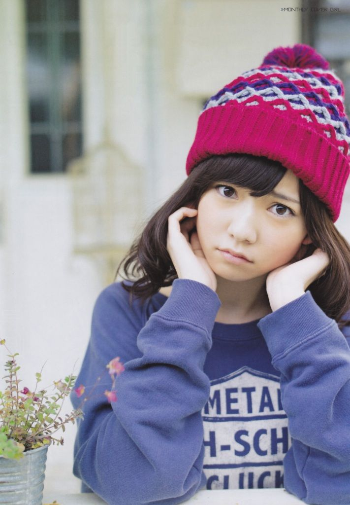 AKB48 Shimazaki Haruka Gekkan ENTAME Jan 2013 2