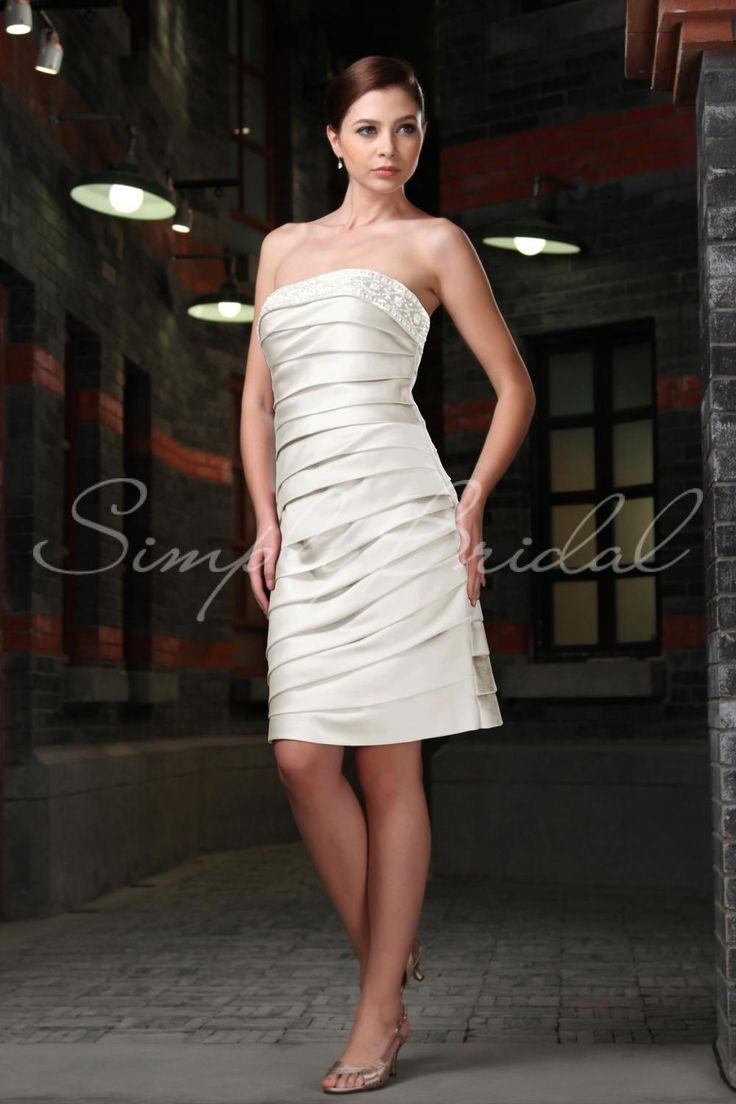 42 best After Wedding Dresses images on Pinterest | Short wedding ...