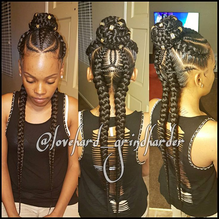"""1,367 Likes, 93 Comments - Cornrows/Boxbraids Heaven (@lovehard_grindharder) on Instagram: """"INFO IN MY BIO FOR APPTS #GlamourBraids  last 2 to 3 weeks #painless No Heat #beautiful…"""""""