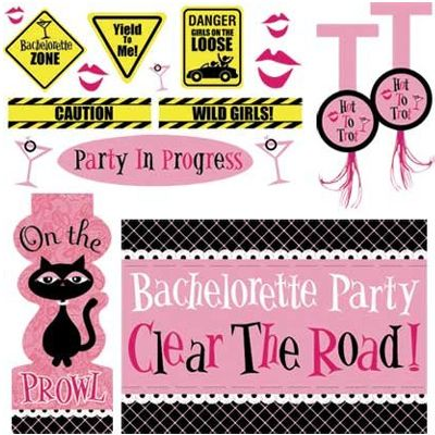 Bachelorette Car Decorating Kit.    -  $26.95 See more at http://myhensparty.com.au/