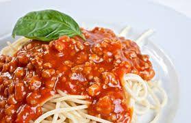 Resultado de imagen para spaghetti ala boloñesa receta