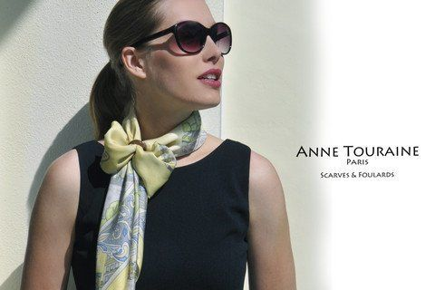 french-silk-twill-scarves-scarf-paris-custom-scarves-fashion-trendy-2014-2015-little-black-dress-add-color-yellow-neckscarf-butterfly-knot-